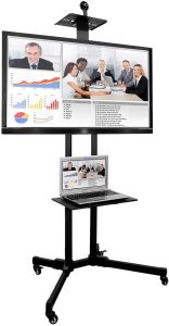 Mount-It! MI-876 TV Cart Mobile TV Stand