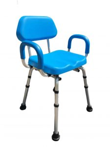 Platinum Health Shower Chair with Back and Arms