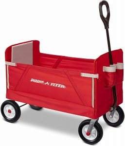 Radio Flyer 3-in-1 All-Terrain EZ collapsible Wagon