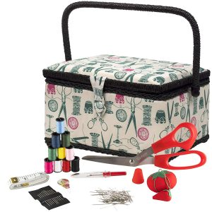 SINGER 07271 Basket with Sewing Kit