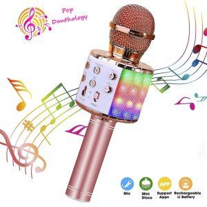 ShinePick Wireless Bluetooth Microphone