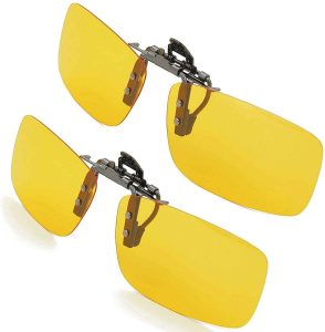 Splaks Clip-on Unisex Frameless Sunglasses