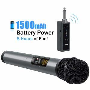 TONOR UHF Wireless Bluetooth Microphone