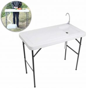 VINGLI Fish and Game Cleaning Table