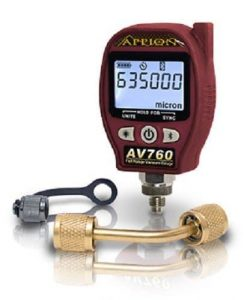Appion AV760 Digital Vacuum Gauge