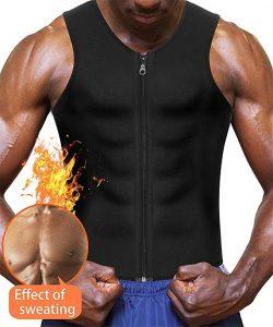 Eleady Men's Neoprene Sauna Suit Waist Trainer