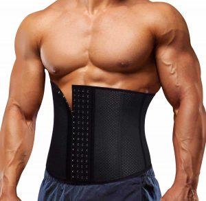 Latex Waist Trainer Belt for Men