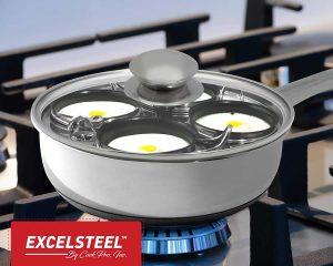 ExcelSteel 521 Cooktop Egg Poacher