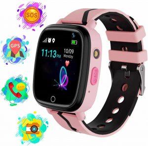 Karaforna Smart Watch for Boys Girls Kids Smartwatch