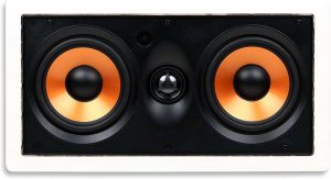 Micca M-CS Dual 5.25 Inch 2-Way In-Wall Speaker