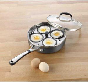 Simply Calphalon 4-cup Egg Poacher
