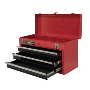 Homak 20-Inch 3-Drawer Ball-Bearing Toolbox