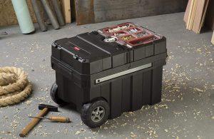 Keter 241008 Masterloader Portable Organizer Tool Box