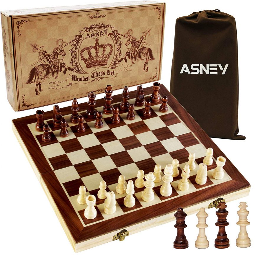 ASNEY Upgraded Magnetic Chess Set