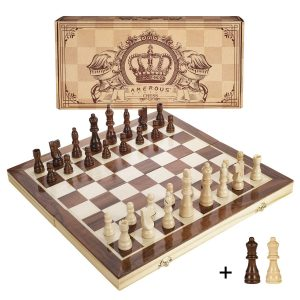 Amerous Wooden Chess Set