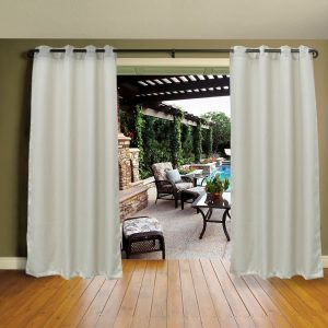 Cross Land Outdoor Waterproof Patio Curtains