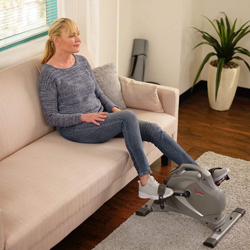 Digital Foot Pedal Exerciser