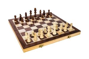 Fun+1 Toys! Classic Wooden Chess Set