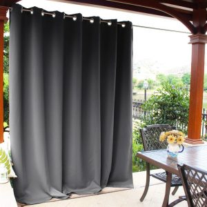 NICETOWN Outdoor Curtain Panel for Patio