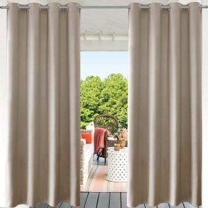 PRAVIVE Blackout Outdoor Curtain Drapes