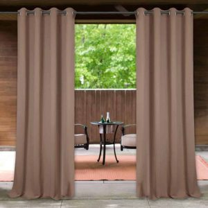 StangH Water & Wind Repellent Outdoor Patio Curtains
