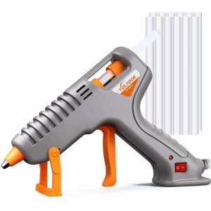 VOLADOR 60W Anti-Drip DIY Hot Glue Gun with 12PCS Glue Sticks