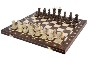 Wegiel Handmade Wooden Chess Set