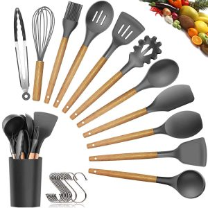 oannao Silicone Cooking Utensils Set