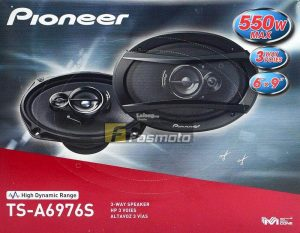 Pioneer TS-A6976S A-Series 3-way car speakers