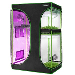 VIVOSUN 2-in-1 Mylar Reflective Grow Tent