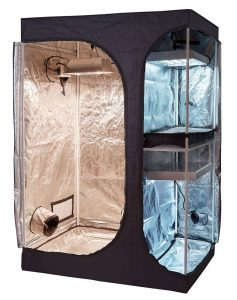 opoLite 2-in-1 Indoor Grow Tent