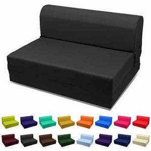 Magshion Folding Bed Twin 5x36x70 Mattress (Black)