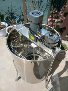 TECHTONGDA Electric 4 Frame Honey Extractor