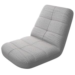 bonVIVO Easy Lounge Floor Chair with Back Support