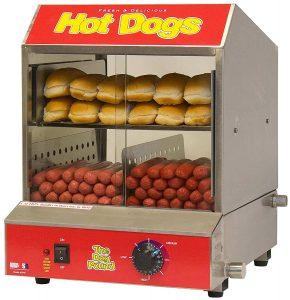 Benchmark 60048 Hotdog Steamer