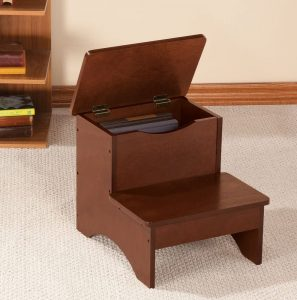 Fox Valley Traders 2 Step Wooden Stool