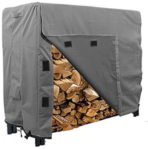 KHOMO Gear Heavy Duty Log Rack with Cover