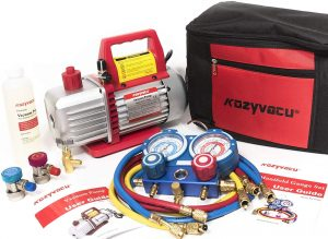 Kozyvacu AUTO AC Vacuum Pump Complete Tool Kit