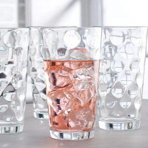 Le'raze attractive Bubble Design Highball Glasses