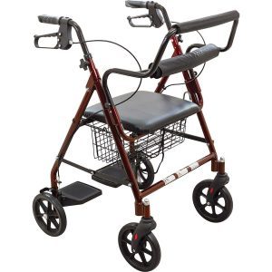 ProBasics Rollator Walker with Seat and Backrest