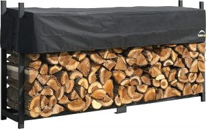 ShelterLogic 8' Ultra-Duty Firewood Rack With Cover