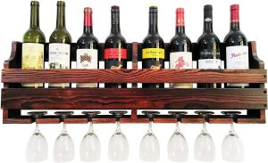 TUORUI Wall Mounted Wine Rack