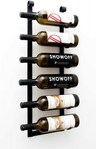 VintageView Wine Rack w/ Label Forward Design