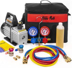 XtremepowerUS 1/4HP 3CFM Air Vacuum Pump