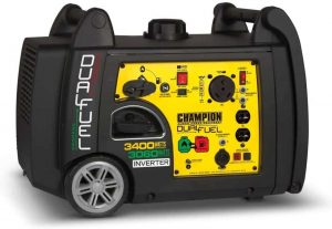Champion 3400-Watt Dual Fuel RV Portable Inverter Generator