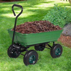 Dporticus Garden Dump Cart Wagon