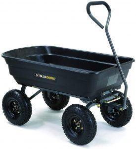 Gorilla Cart GOR4PS Dump Cart