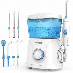 Homgeek Upgrade Water Flosser, Oral Irrigator