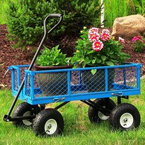 Sunnydaze Décor Garden Cart