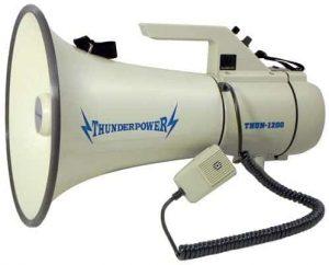ThunderPower Megaphone Speaker